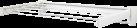 LEIFHEIT Telegant 36 Protect Plus - Stendibiancheria a parete, Bianco
