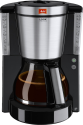 Melitta Look® DeLuxe - Filterkaffeemaschine - 1.25 l - Schwarz/Edelstahl