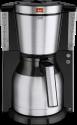 Melitta Look® Therm DeLuxe - Machine à café filtre - 1.25 l - Noir/Inox