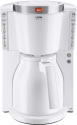 Melitta Look® Therm Selection - Machine à café filtre - 1 l - Blanc