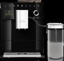 Melitta F630-102 CI Touch - Macchina da caffè automatiche - Con sistema di preparazione del latte rimovibile - Nero