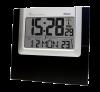 Mebus 41088 Funkwanduhr digital, schwarz