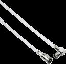 hama - Câble de connexion à large bande - blanc