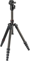 hama Professional Premium Duo Carbon - Dreibeinstativ - Panoramafunktion - Schwarz