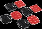 hama Befestigungsplatten-Set für GoPro 4374