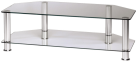 hama Mobile TV per apparecchi Plasma/LCD, vetro trasparente / argento