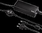 hama Alimentation secteur universelle pour Notebook 15-24 V - Chargeurs - 90 W - Noir