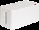hama Boîtier pour câbles Mini, blanc