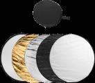 hama Réflecteur 5 en 1 - Kit de réflecteurs pliables - Pliable - Coloré
