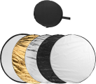 hama 5in1 Reflektor - Faltreflektor Set - Faltbar - Farbig