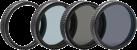 hama  Filter-Kit - Für Drohne DJI P3/4 - Schwarz