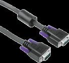 hama VGA Kabel - 10 m - Schwarz