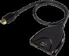 hama HDMI™ Verteiler - Zubehör - 1080 p - Schwarz