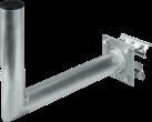 Hama SAT-Geländerhalterung - Mit Ausleger - Aluminium