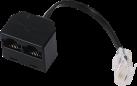 hama ISDN-Splitter, 10 cm