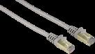 hama CAT-6 - Câble réseau PIMF - 10 m - Gris