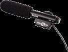 hama RMZ-16 - Richtmikrofon - 3.5 mm-Klinkenstecker - Schwarz