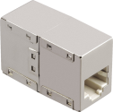 hama CAT5e-Netzwerkadapter, 2x Modular 8p8c (RJ45)-Kupplung