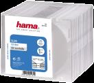 hama Slim Jewel Case für Speicher-CD, durchsichtig (Packung mit 25)