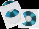 hama CD-ROM Paper Sleeves, blanc (pack de 100 )