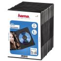 hama DVD Slim Box, nero (pacchetto di 25 )