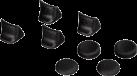 hama Trigger-Aufsätze-Set 8in1 - für PS3 - Schwarz