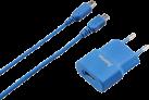 hama USB-Ladegerät - für Nintendo 3DS - Blau