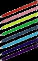 hama Stylets - pour Nintendo New 3DS XL - kit de 8 pièces - couleurs arc en ciel