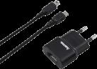 hama USB-Ladegerät - Für Nintendo New 3DS, New 3DS XL und New 2DS XL - Schwarz