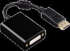 hama DisplayPort-Adapter - Für DVI - Ultra HD - Schwarz