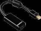 hama Mini-DisplayPort-Adapter - Für HDMI - Ultra HD - Schwarz