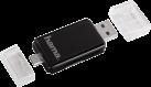 hama Lettore schede 2in1-USB-2.0-OTG SD/microSD