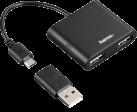 hama Hub 1:2 USB 2.0 OTG