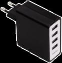 hama USB-Ladegerät, mit vier Buchsen