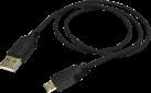hama Basic - Ladekabel - Für Sony PS4 - Schwarz