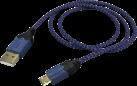 hama High Quality - Ladekabel - 2.5 m - Blau/Schwarz
