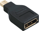hama DisplayPort-Adapter, MiniDisplayPort-Stecker - DisplayPort-Kupplung