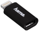 hama Micro-USB-2.0-Adapter, mit Lightning Connector