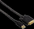 hama 54593 - DisplayPort Adapterkabel - 1.8 m - Schwarz