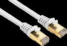 hama CAT-5e - STP Netzwerkkabel - 0.25 m - Weiss