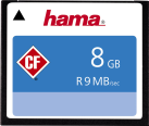 hama CompactFlash - Scheda di memoria - 8 GB - Nero
