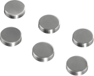 hama Magnete, Kreisform, 6 Stück