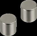 hama Magnete, Zylinderform, 2 Stück