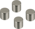 hama Magnete, Zylinderform, 4 Stück