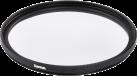 hama UV-/Schutzfilter 62 mm - Schwarz