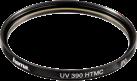 hama UV-Filter 390 HTMC 86 mm - Schwarz