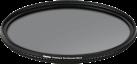 hama Premium 40.5 mm - Polarisationsfilter - Super-coated: 18 Schichten - Schwarz
