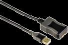 hama Cavo attivo di prolungamento USB-2.0l, 5 m