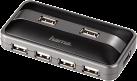 hama USB 2.0 Hub 1:7