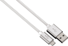 hama Lade-/Sync-Kabel Color Line, 0.5 m, weiss